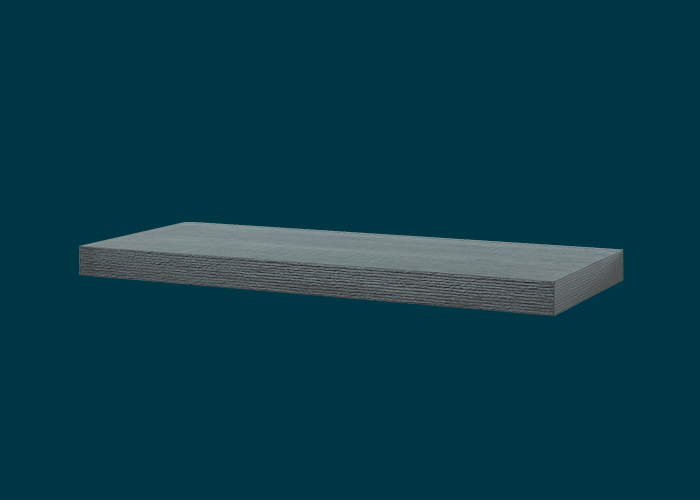 Floating Shelf Ash Oak 600x240x38mm