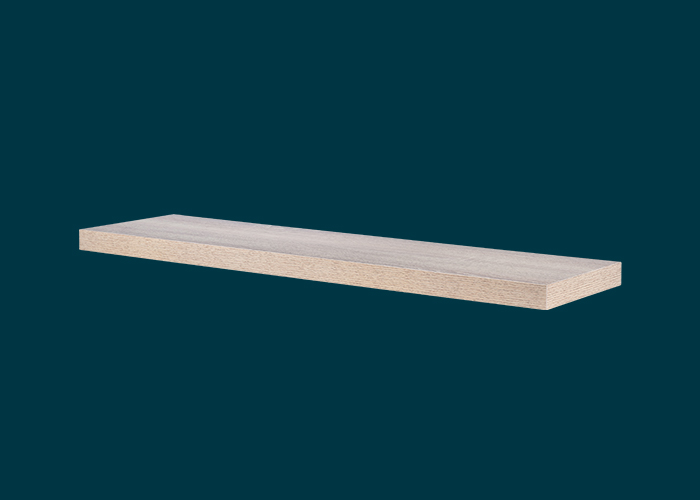 Floating Shelf Oak 900x240x38mm