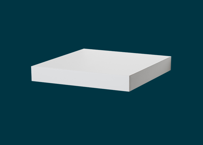 Floating Shelf White Matt 250x250x38mm