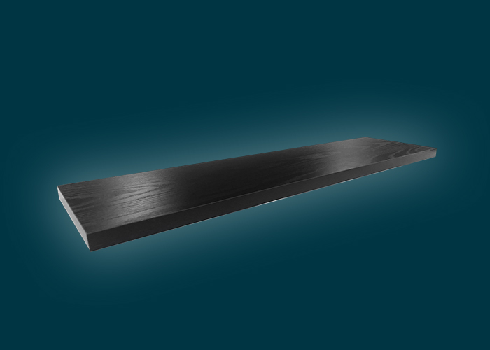 Style Shelf Black Oak 900x190x24mm