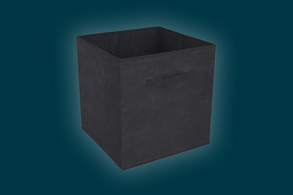 Flexi Storage Clever Cube Compact Fabric Insert Black isolated