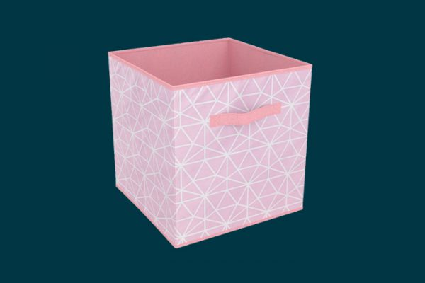 Flexi Storage Clever Cube Compact Fabric Insert Geometric isolated