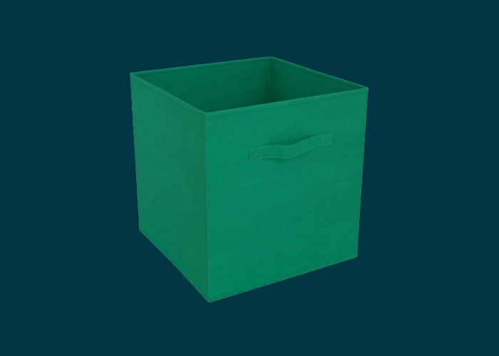 Clever Cube Compact Fabric Insert Jungle Green