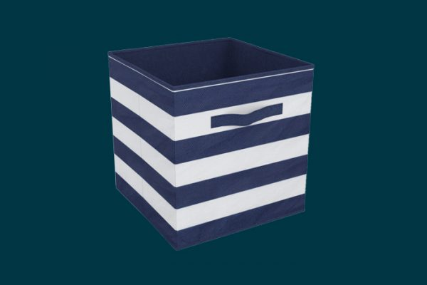 Flexi Storage Clever Cube Compact Fabric Insert Nautical Days isolated