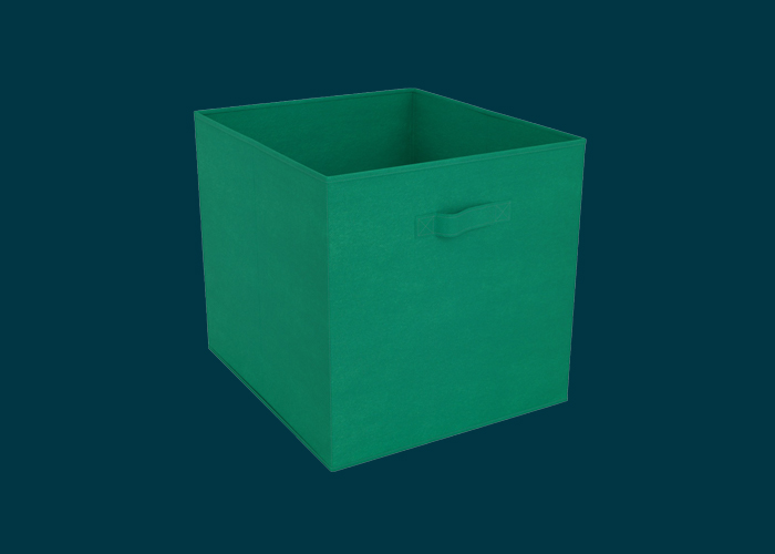 Clever Cube Fabric Insert Jungle Green