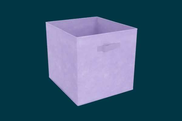 Flexi Storage Clever Cube Fabric Insert Lilac Fusion isolated