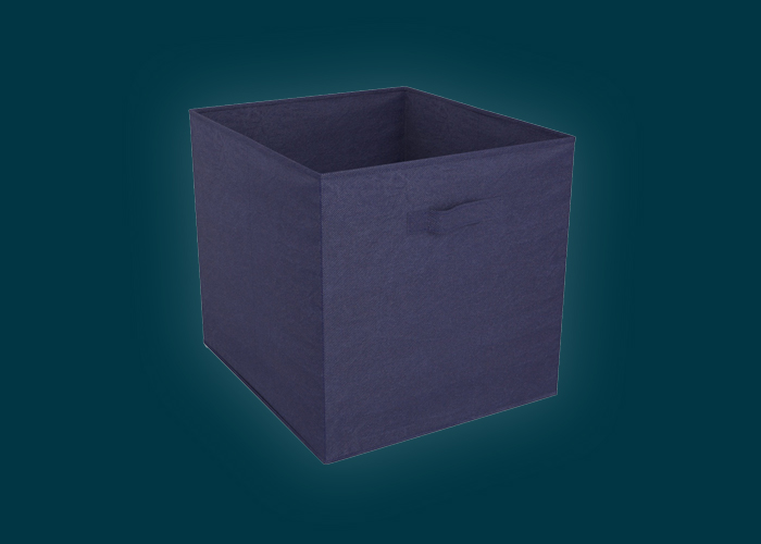 Clever Cube Fabric Insert Navy Blue