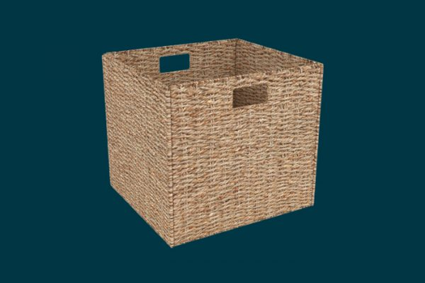Flexi Storage Clever Cube Natural Insert Sea Grass isolated