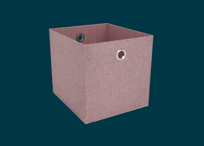 Clever Cube Premium Fabric Insert Blush Pink
