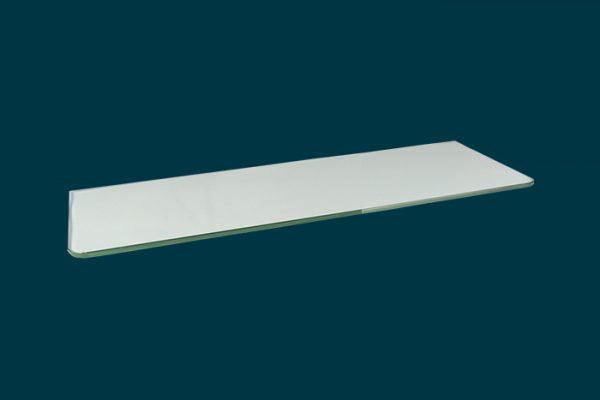 Flexi Storage Decorative Shelving Glass Shelf 600x200x8mm isolated
