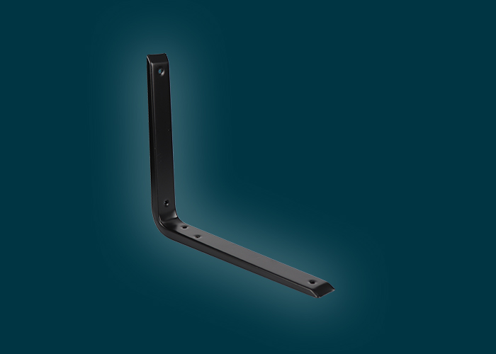Reinforced Bracket Black 300x250mm
