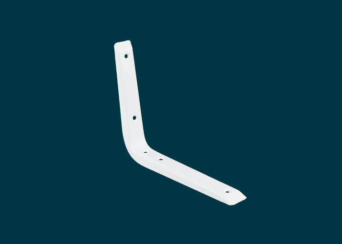 Reinforced Bracket White 150x200mm