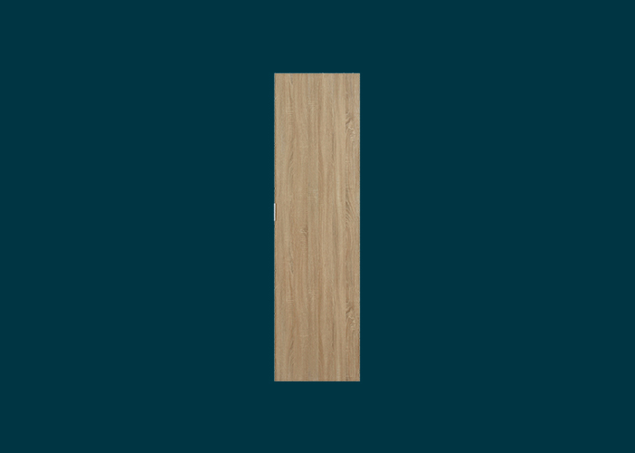 Hinged Wardrobe Door Oak
