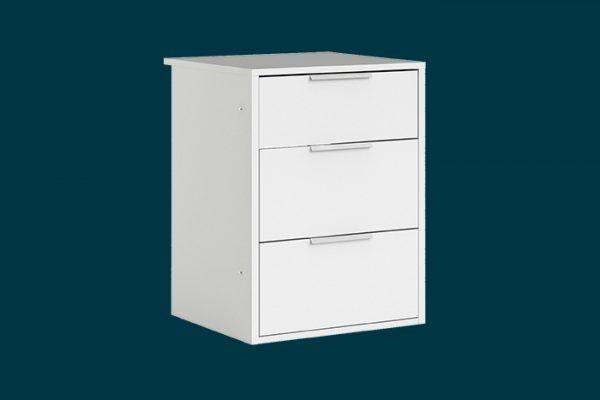 Flexi_Storage_Wardrobe_Sliding_Wardrobe_3_Drawer_Insert_White_1