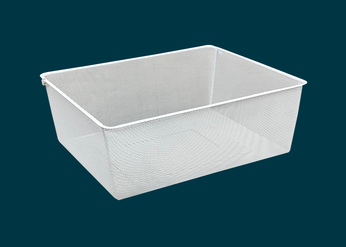 Walk-In Wardrobe Mesh Basket