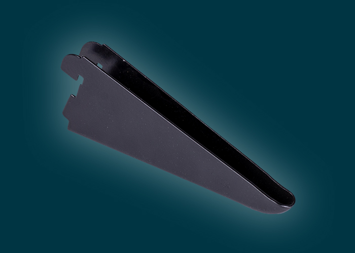 Home Solutions Double Slot Bracket Black 120mm