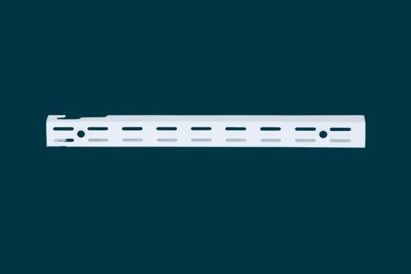 Flexi Storage Home Solutions 300mm Double Slot Wall Strip isolated