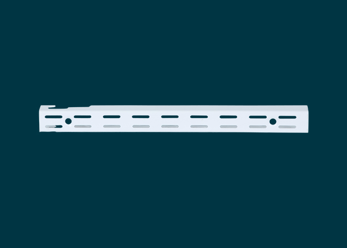 Home Solutions Double Slot Wall Strip White 300mm