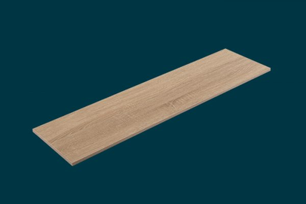 Flexi Storage Home Solutions Timber Shelf Oak 1200x300x16mm isolated