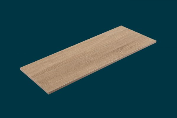 Flexi Storage Home Solutions Timber Shelf Oak 900x300x16mm isolated