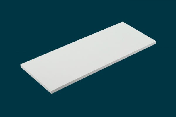 Flexi Storage Home Solutions Timber Shelf White 600x250x16mm isolated