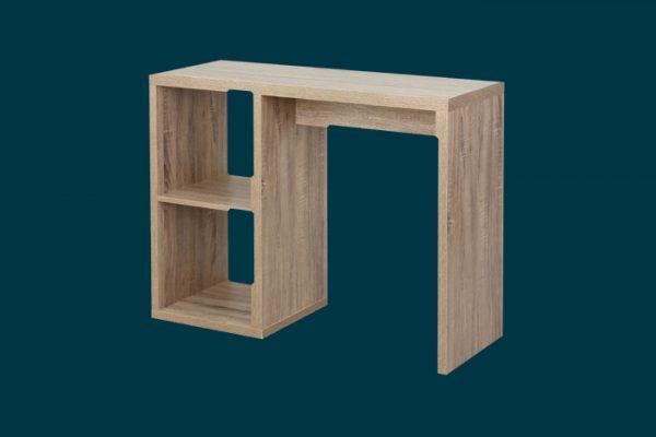 Clever Cube 1 X 2 Desk Oak Flexi