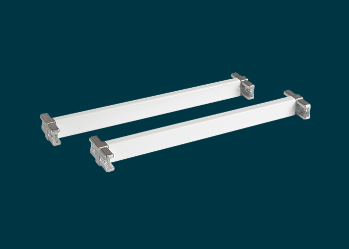 Home Solutions 230mm Cross Bars & T-Connector White