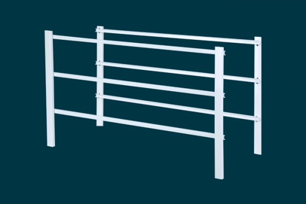 Flexi Storage Home Solutions 3 Runnner Frame White isolated