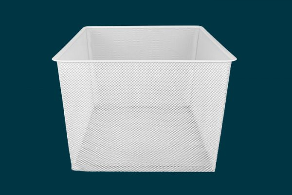 Flexi Storage Home Solutions Full Width Mesh Basket 3 Runner 285mm isolated