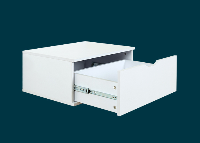 Home Solutions Single Drawer Unit White