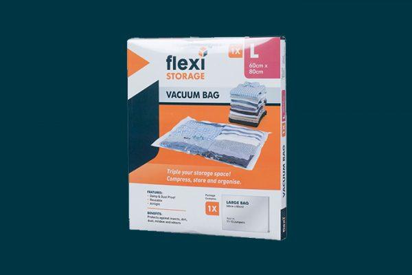 Flexi Storage Vacuum Storage Bag Large packaging isolated