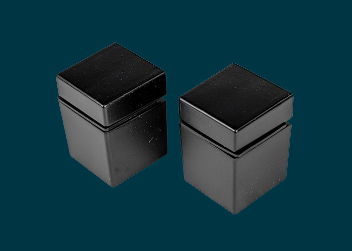 Cube Shelf Clip Matt Black
